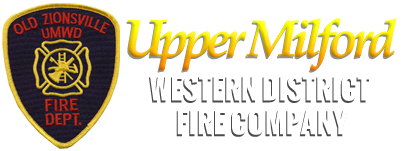 Upper Milford Western District Fire Company Retina Logo